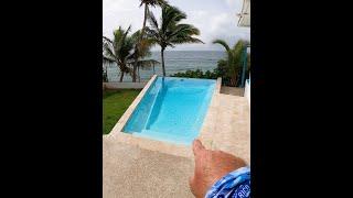[Nuevo] el INFINITY del ACANTILADO 💙 Pa' Quedarse 😍 Espectacular Casita Frente a la Playa 🌴🇵🇷