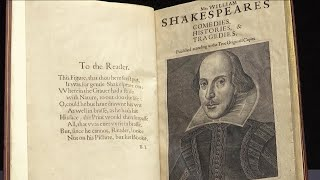 1623 Book of Shakespeare's Work Could Sell for $6 Million