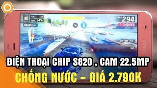 Điên rồ! Điện thoại Sharp SHV34 chip S820, cam 22.5MP, chống nước giá 2.790K(, 2018-03-28T12:00:05.000Z)