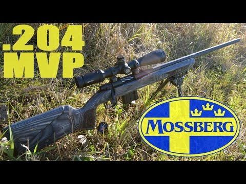 Gun Review: Mossberg MVP Varmint bolt action rifle in  204