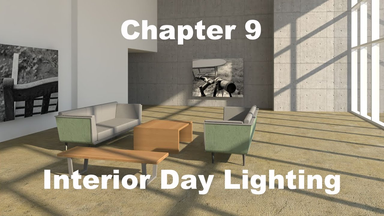 Gsg vectorworks renderworks interior day lighting youtube