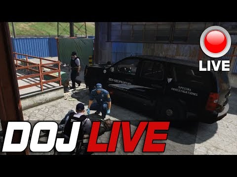 Dept of Justice Cops Role Play Live - Special Investigations
