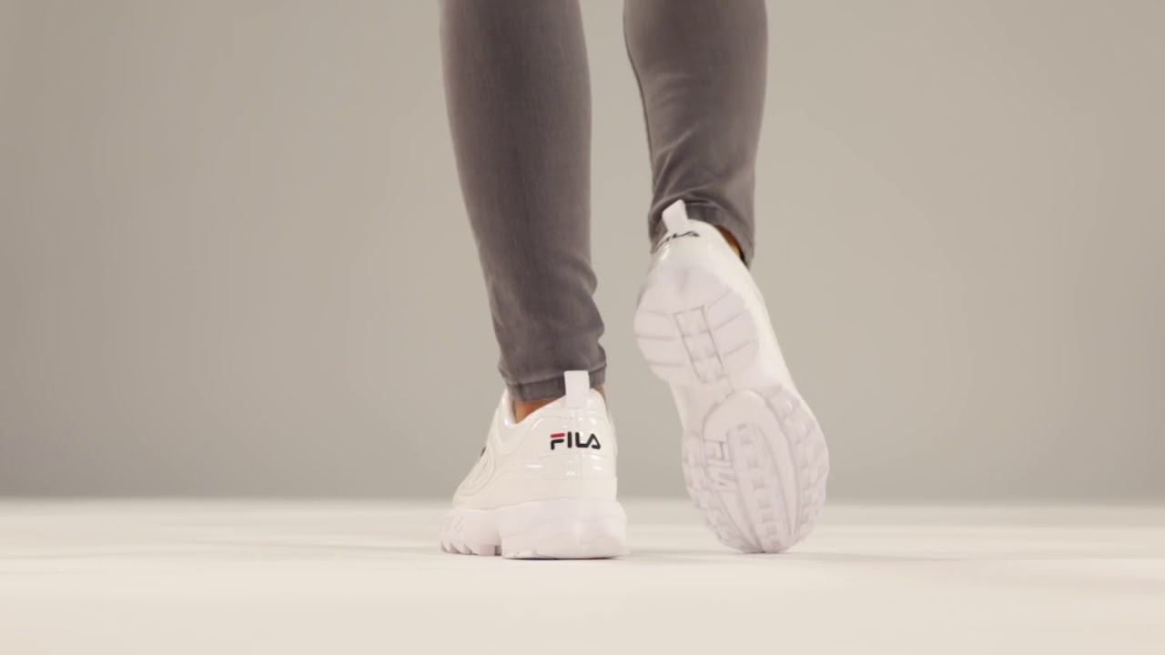 FILA DISRUPTOR P LOW 1010746 1FG Sneaker CAGE  Sneaker CAGE