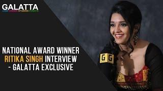 National award winner Ritika Singh interview - Galatta Exclusive