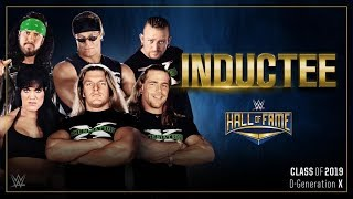 D-Generation X are the first inductees in the WWE Hall of Fame Class of 2019
