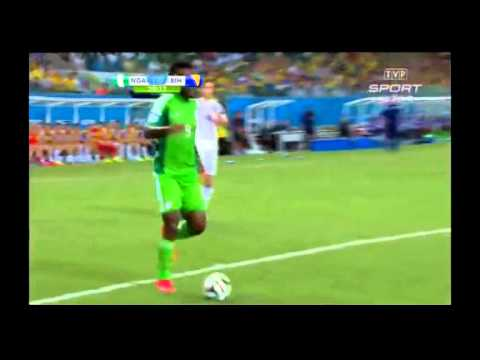 Nigeria 1-0 Bosnia world cup 2014