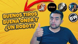 Reaccionando a 5 subs, Buenos tiros buena onda y ¿Un Robot? | Fortnite Battle Royale |