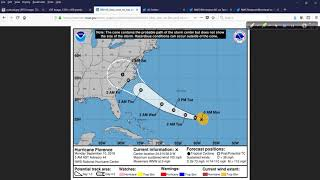 Hurricane Outlook and Discussion for Sept 10, 2018