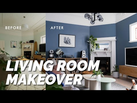 extreme-diy-living-room-makeover!-luxe-modern-look:-before-&-after-room-reveal-&-styling-tips!-⚒️
