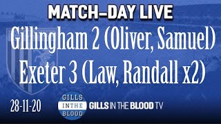 GITBTV, Match Day Live: Gills 2-3 Exeter, 28-11-20