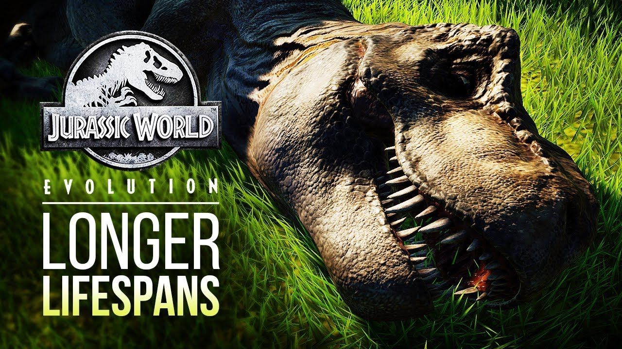LONGER DINOSAUR LIFESPANS COMING | Jurassic World: Evolution Patch Information
