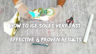 How To Ice Your Soles Very Fast | Effective And Proven Method