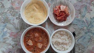 [Food Asmr] 청국장 동치미 먹방 (cheong…