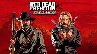 Red Dead Redemption 2 - Arthur Vs Micah (Red Dead Redemption) Music Theme 1