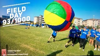 FIELD DAY - HOUSTON, TEXAS - GIANT VOLLEYBALL - FACE PAINTING