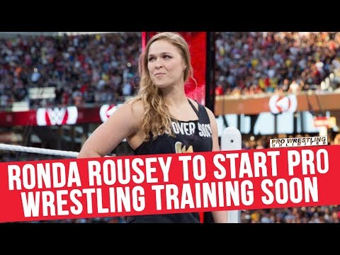 Ronda Rousey To Start Pro Wrestling Training Soon