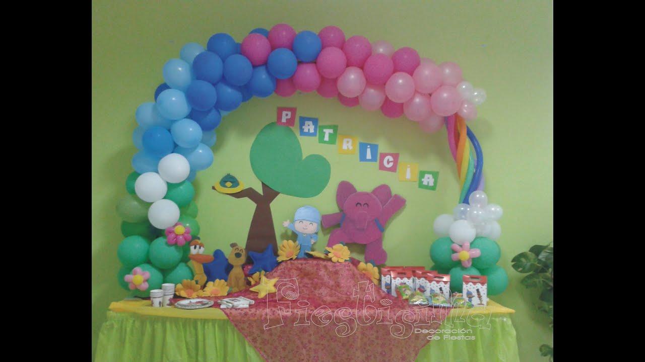 Pocoyo decoraciones para fiestas the - Decoracion fiesta infantil ...