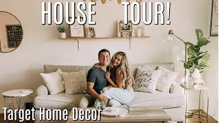 HOUSE TOUR | TARGET Home Decor, moving in together after marriage!