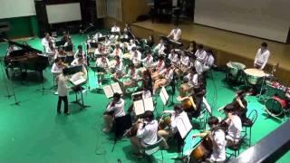 [IIHS Chamber Orchestra] Grieg piano concerto A Minor - 1. Allegro molto moderato