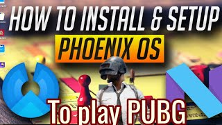 How to play pubg mobile timi lite in phoenix os 32 bit fix black screen
