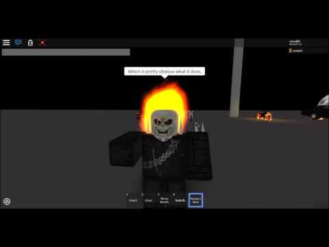 Roblox Slightly Updated Ghost Rider And Iron Fist Youtube