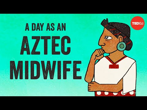 Video image: A day in the life of an Aztec midwife - Kay Read
