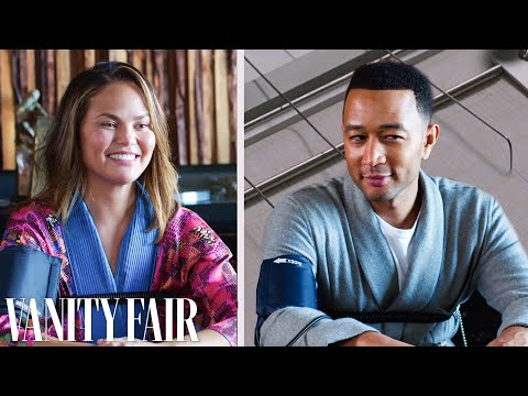 Miss Monique - John Legend and Chrissy Teigen take a lie detector test