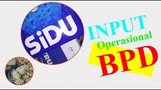 Siskeudes 2 0 Cara Input Belanja Operasional Bpd Youtube