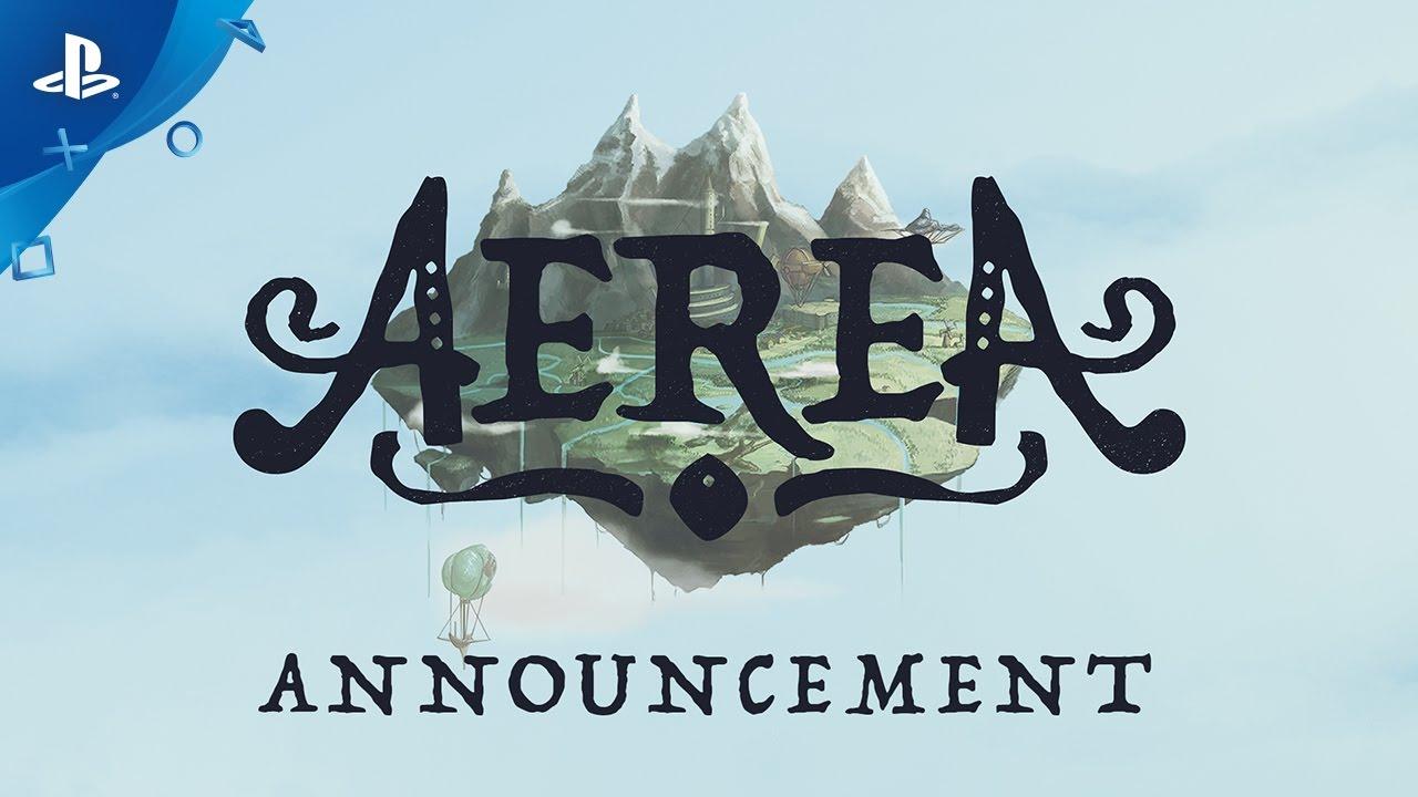 AereA - Announcement Trailer | PS4 - YouTube