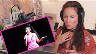 "Vocal Coach reacts to Nicki Minaj ""Grand Piano"" Live!"