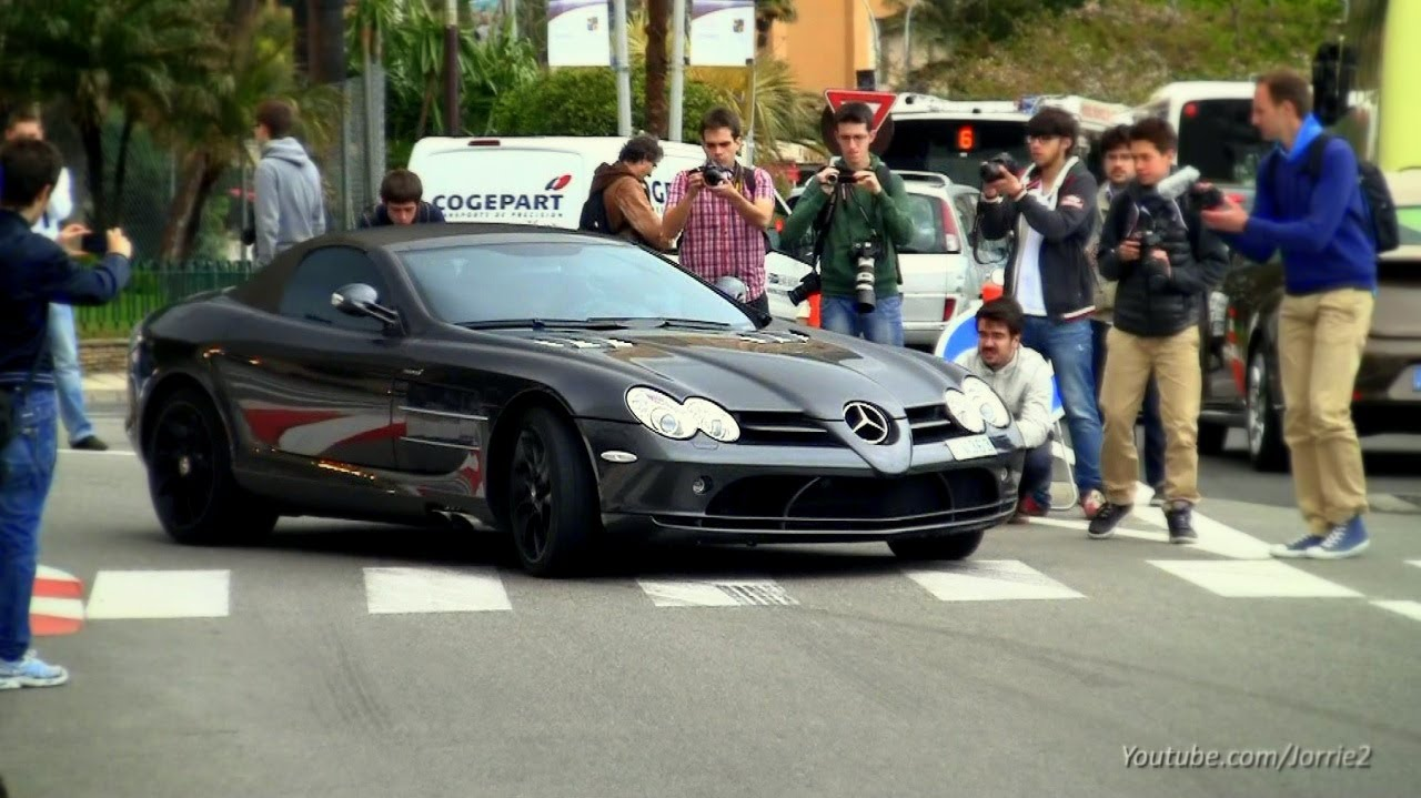Mercedes Benz SLR McLaren Straight Pipes Sound!   1080p HD   YouTube