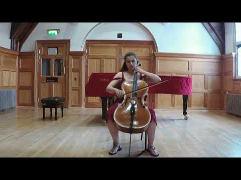 Gaspar Cassado - Cello Suite 1st Movement