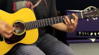 How To Play - Journey - Faithfully - On Acoustic Guitar - Guitar Lesson - EASY Chords