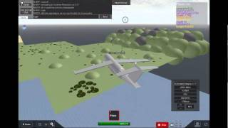 Can a C-17 land at Sunshine Mountain in Roblox?