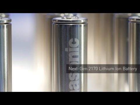 Next Gen 2170 Lithium Ion Battery   #PanasonicCES 2018