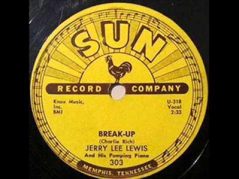 JERRY LEE LEWIS Break-Up (LYRICS) - YouTube