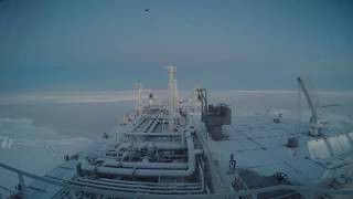 vuclip Eduard Toll Transiting the Northern Sea Route | Teekay