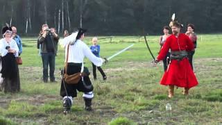 Hubertowiny 2010 - walka sarmatów