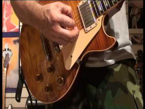 Gibson Les Paul R9 1998 VS 2004 Epiphone Elitist - YouTube