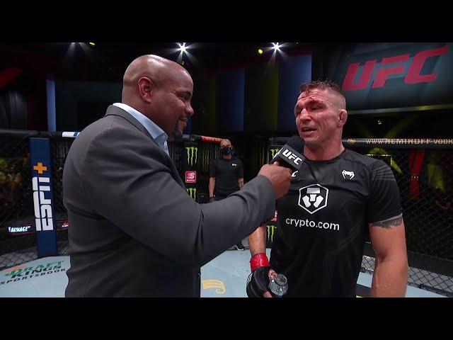 Darren Elkins Octagon Interview   UFC Vegas 32