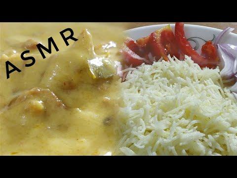 KADHI CHAWAL MUKBANG| INDIAN FOOD ASMR | EATING SOUND | DETECTIVE BITES