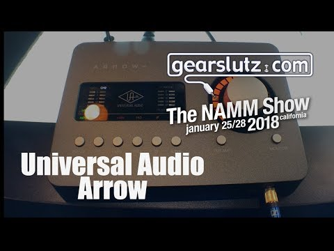 Universal Audio Ships Arrow Desktop Audio Interface For
