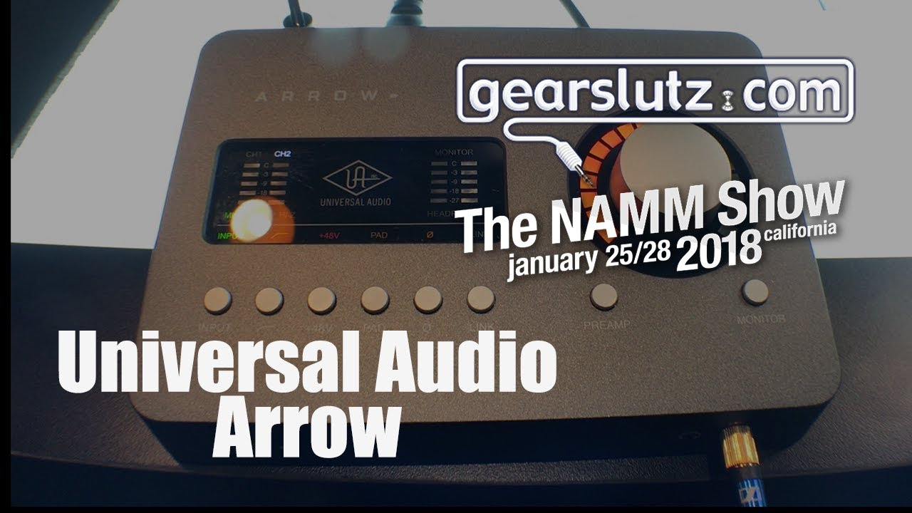 Universal Audio Ships Arrow Desktop Audio Interface For Music