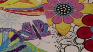 Seniors Painting Water Colors