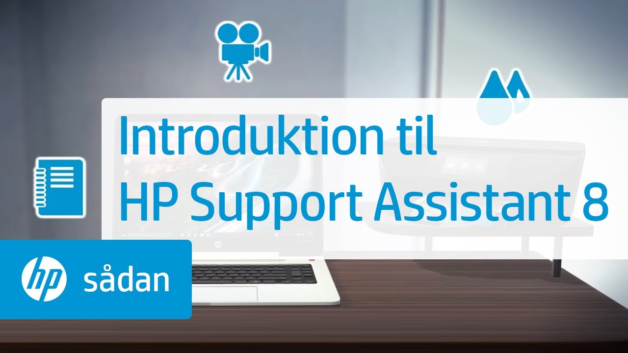 how to open hp support assistant