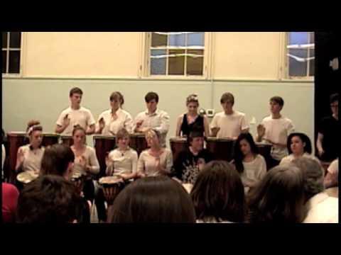 Seattle Waldorf High School Drumming - Part 1 - 2013