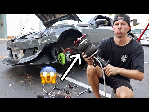MY AIR STRUT EXPLODED... (while driving)