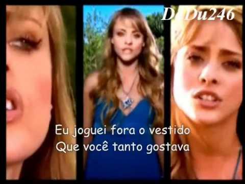 Floribella Brasil - Meu Vestido Azul - Letra