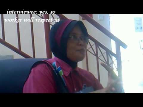 interview a cleaner at uthm.wmv
