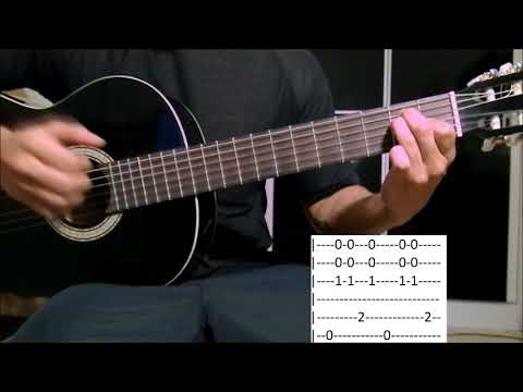 La Paloma - Aula Solo Violão Fingerstyle (como tocar tablatura)